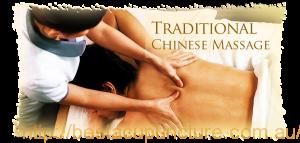 Chinese massage (Tuina)