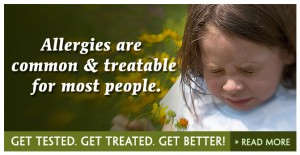 Allergies are common & treatable for most people