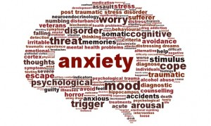 Anxiety mental health, mood disorder