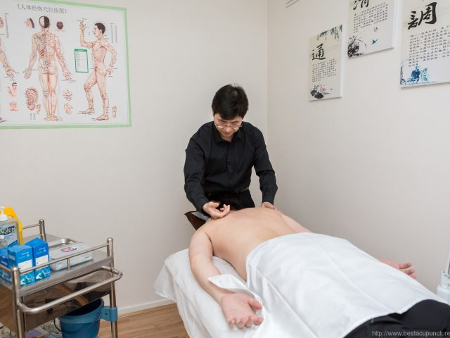 Tuina (Chinese massage) therapy